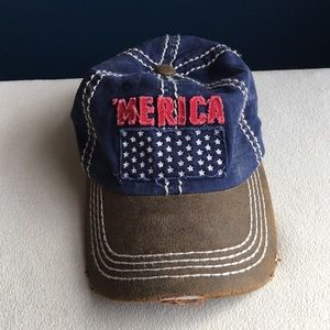 Kbethos adjustable 'Merica hat / cap, one size